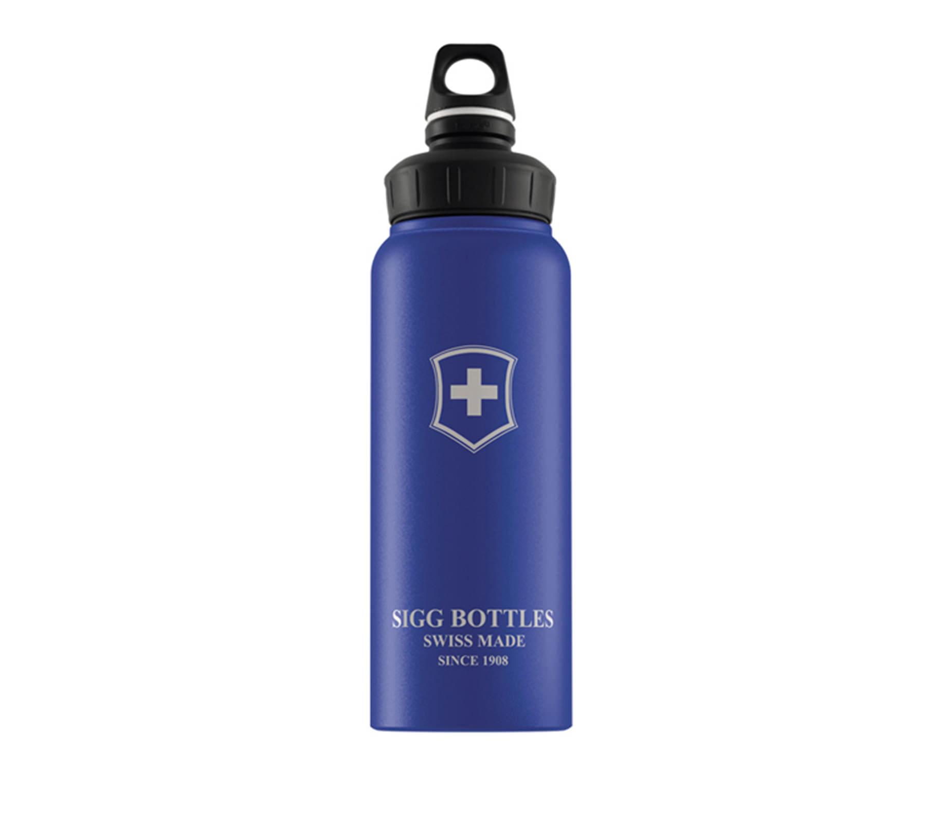 Bình nước SIGG Active WMB Swiss Emblem Blue Touch 1L