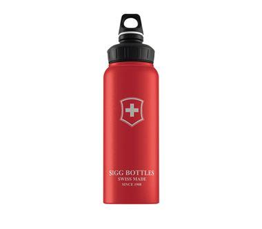 Bình nước SIGG Active WMB Swiss Emblem Red Touch 1L