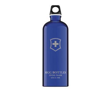 Bình nước SIGG Classic Swiss Emblem Dark Blue 1L