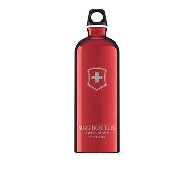 Bình nước SIGG Classic Swiss Emblem Red 1L
