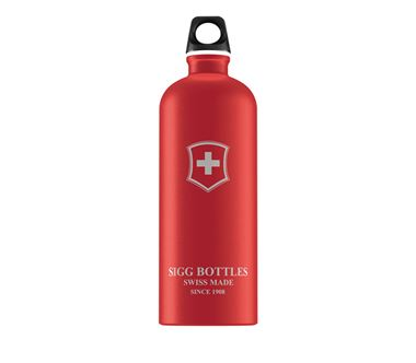Bình nước SIGG Classic Swiss Emblem Red Touch 1L