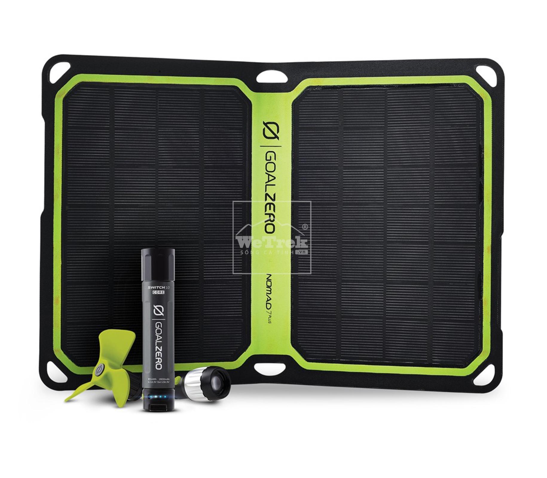 Bộ chuyển mạch năng lượng mặt trời Goal Zero Switch 10 Core Solar Kit 42034 - 8185