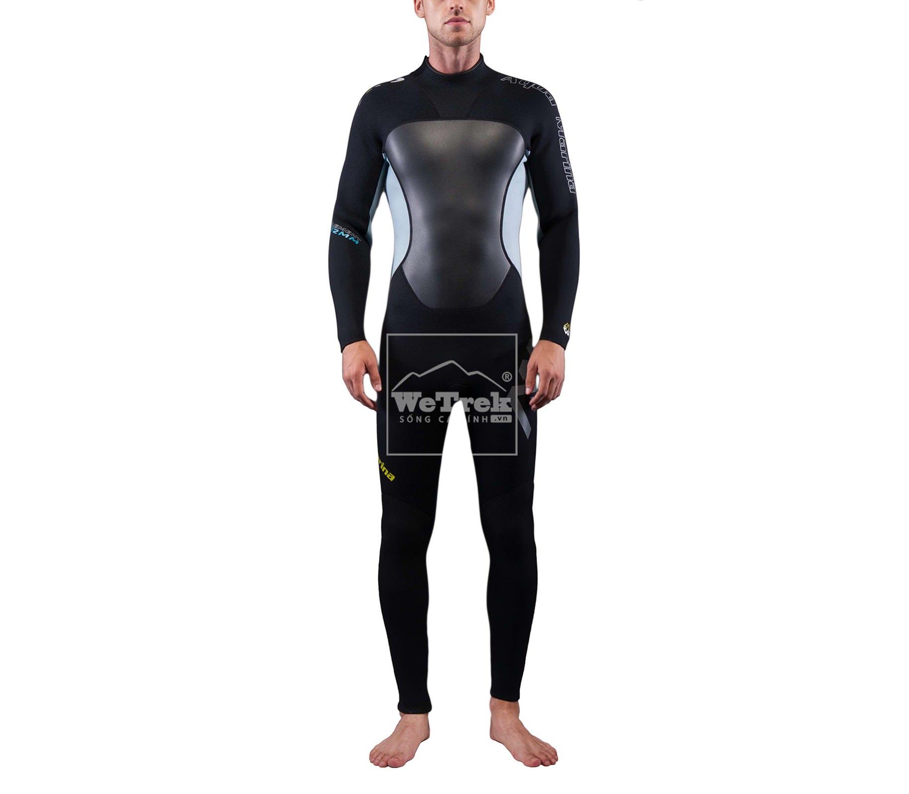 Bộ đồ bơi giữ nhiệt nam Aqua Marina Element Men