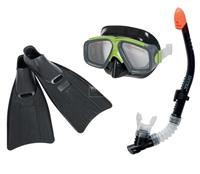 Bộ kính bơi chân vịt ống thở người lớn INTEX 55959