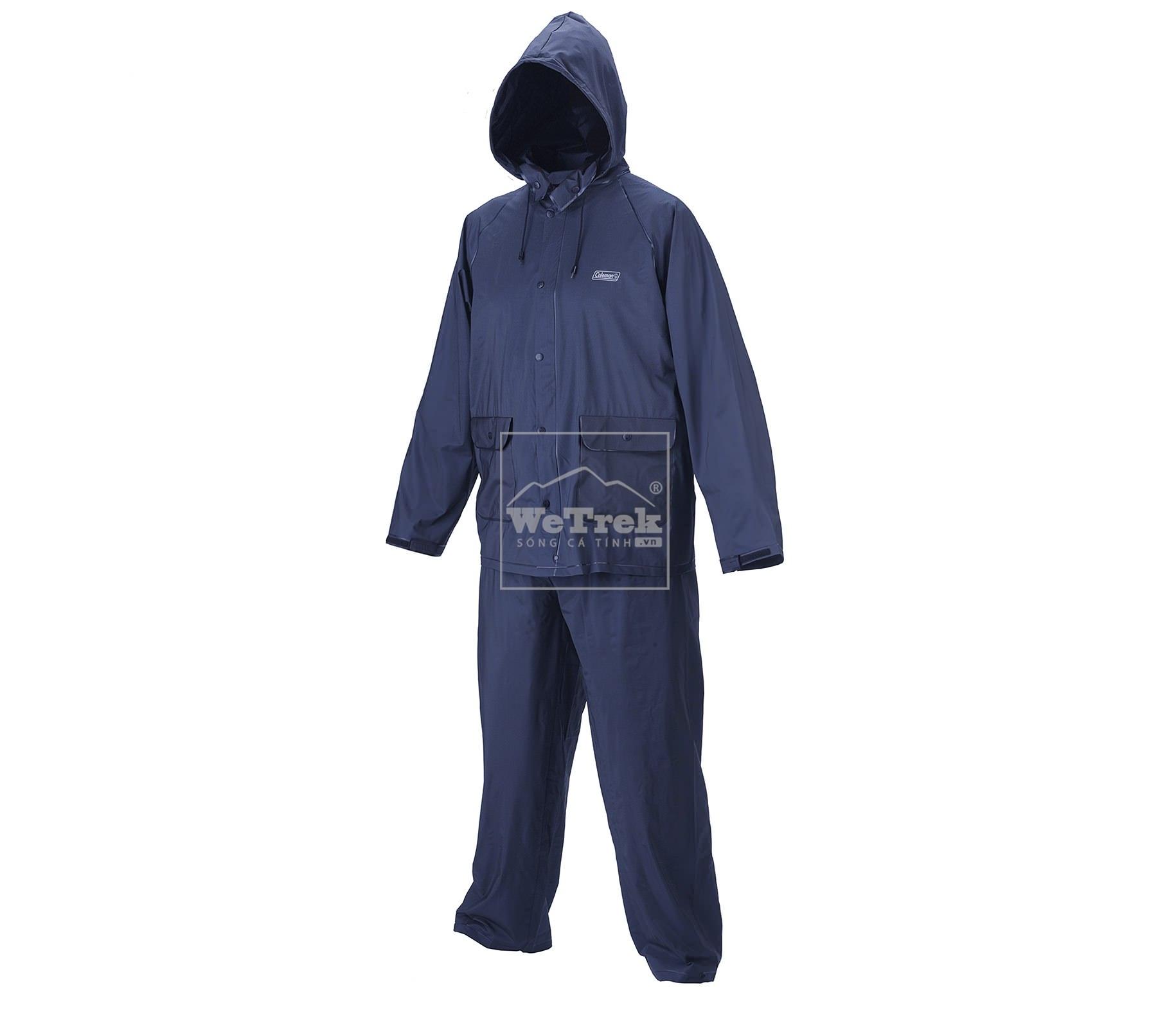 Bộ quần áo đi mưa S Coleman PVC Apparel PVC Suit Blue 2000014767 - 7607