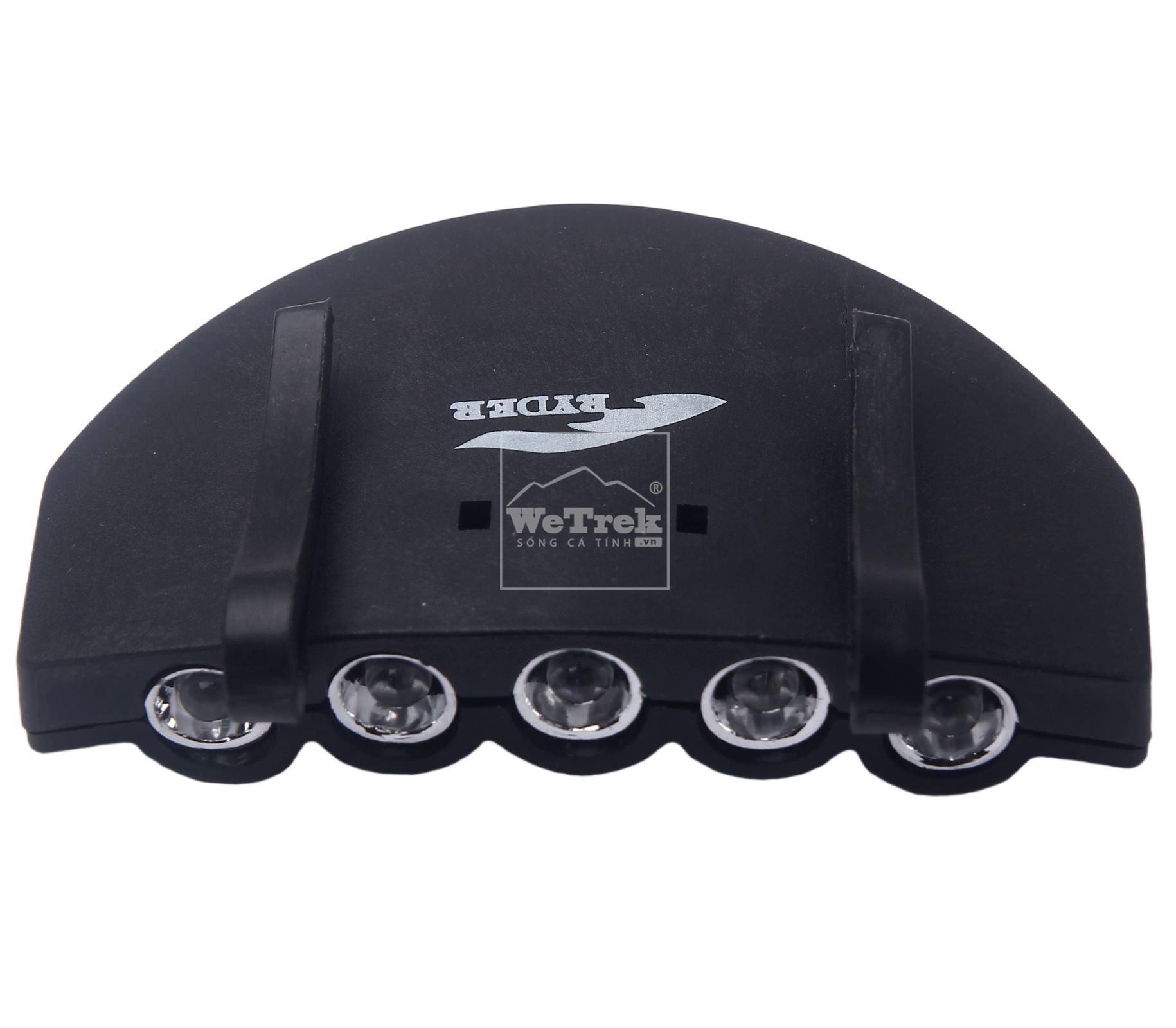 Đèn cài mũ lưỡi trai 5 LED Ryder Cap Torch K0008 - 6723