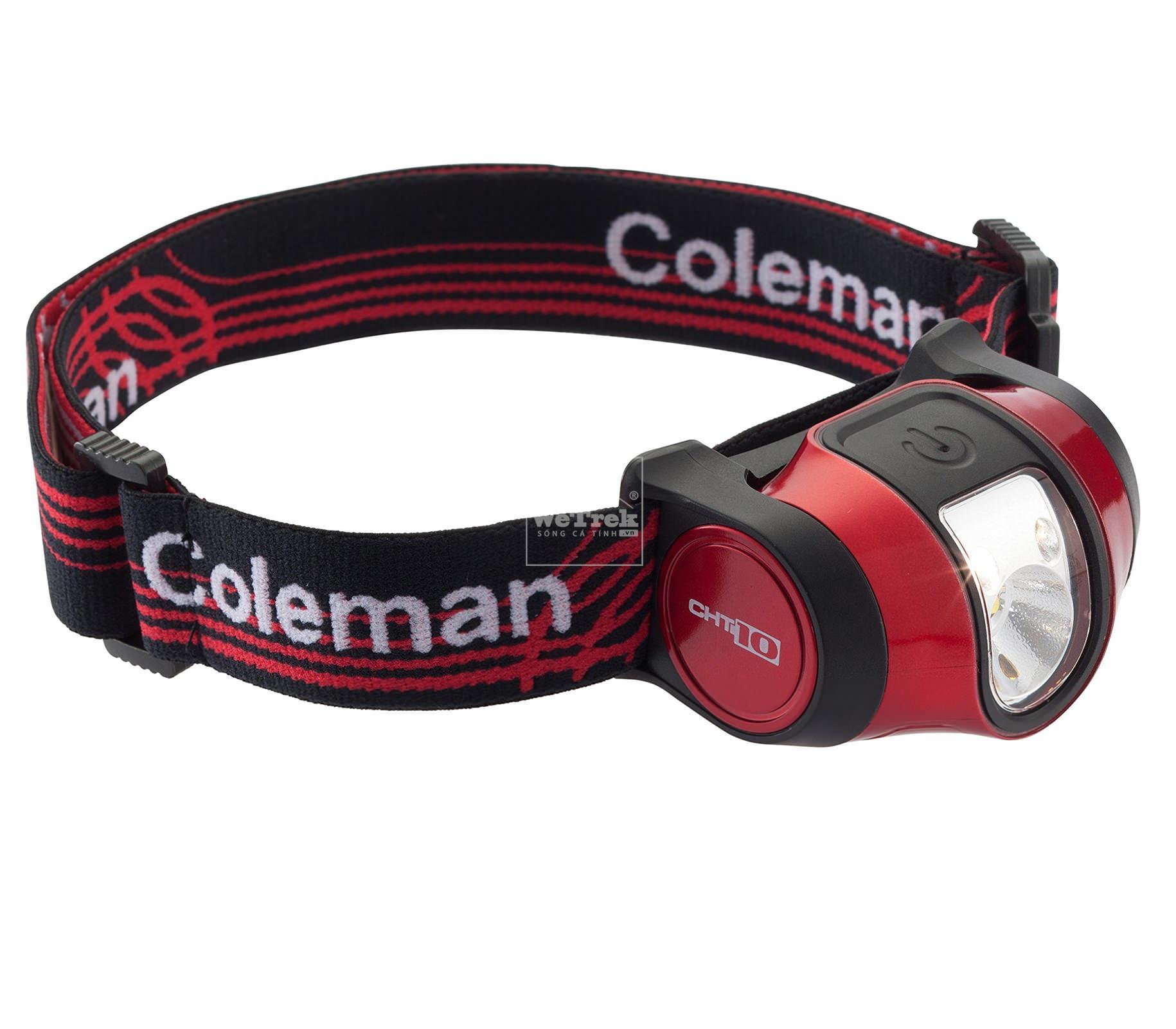 Đèn dây đeo trán Coleman Headlamp CHT10 Extreme II - 2000022286 - 5937 Đỏ đen