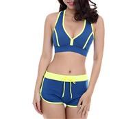 Đồ bơi nữ 2 mảnh Legsuits LHB 21060 - 6578