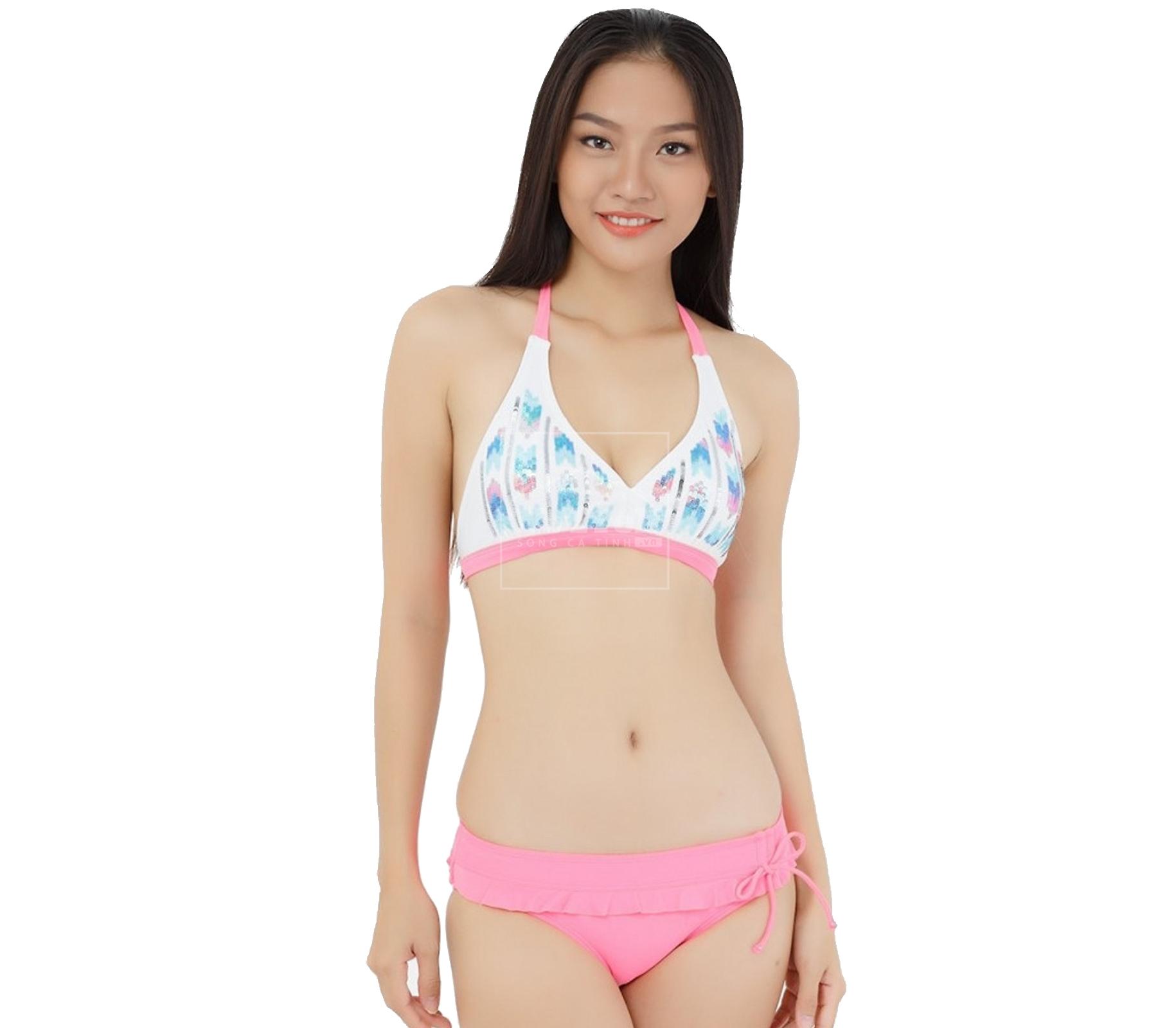 Đồ bơi nữ 2 mảnh đầm LHB 23056 - 6634