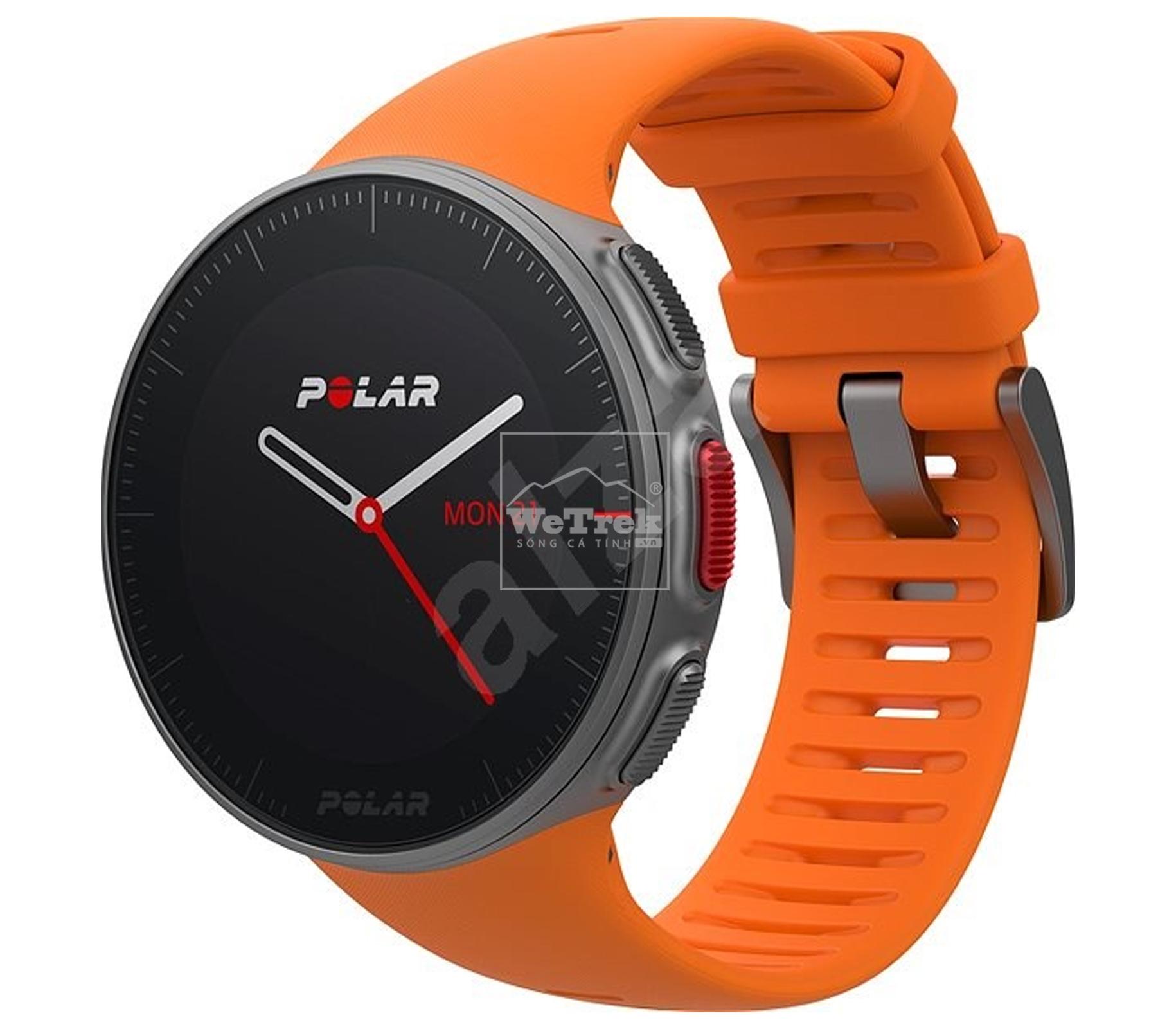 Đồng hồ thông minh POLAR VANTAGE V Orange HR - 9350