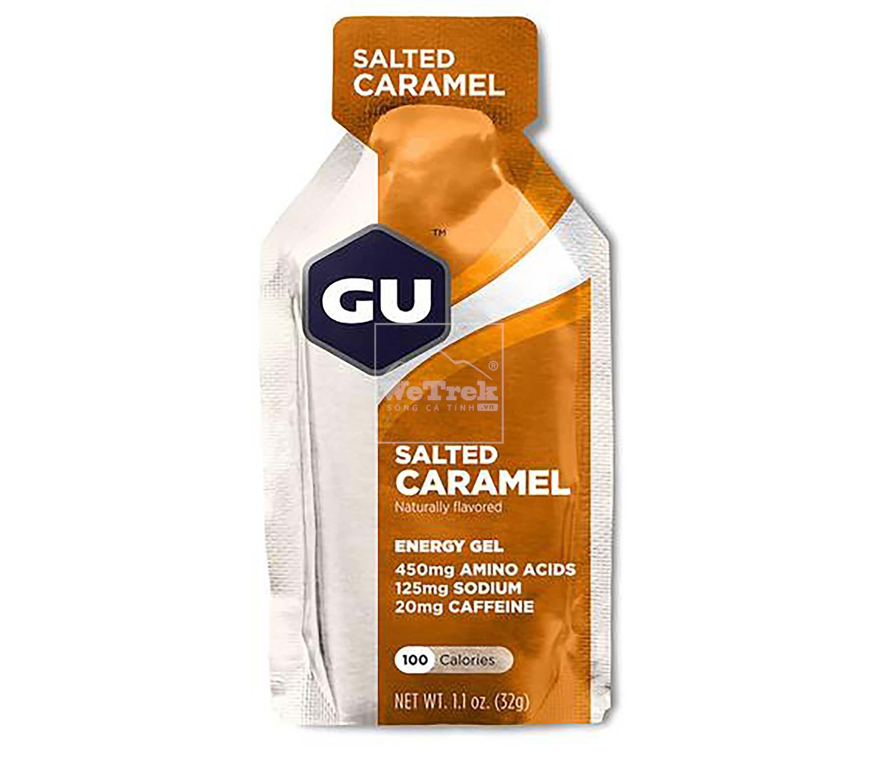 Gói gel năng lượng vị mạch nha mặn GU Energy Salted Caramen Gel - 8077