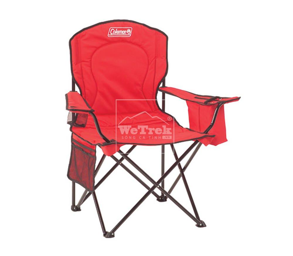 Ghế xếp 4 cỡ lớn Coleman 2000002189 - Đỏ