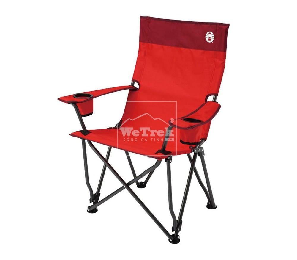 Ghế xếp Coleman High Back Relax 2000010504 - Đỏ