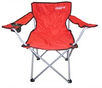 Ghế xếp có tay tựa Coleman GO! Quad Arm Chair 2000019119 - Đỏ - 4563