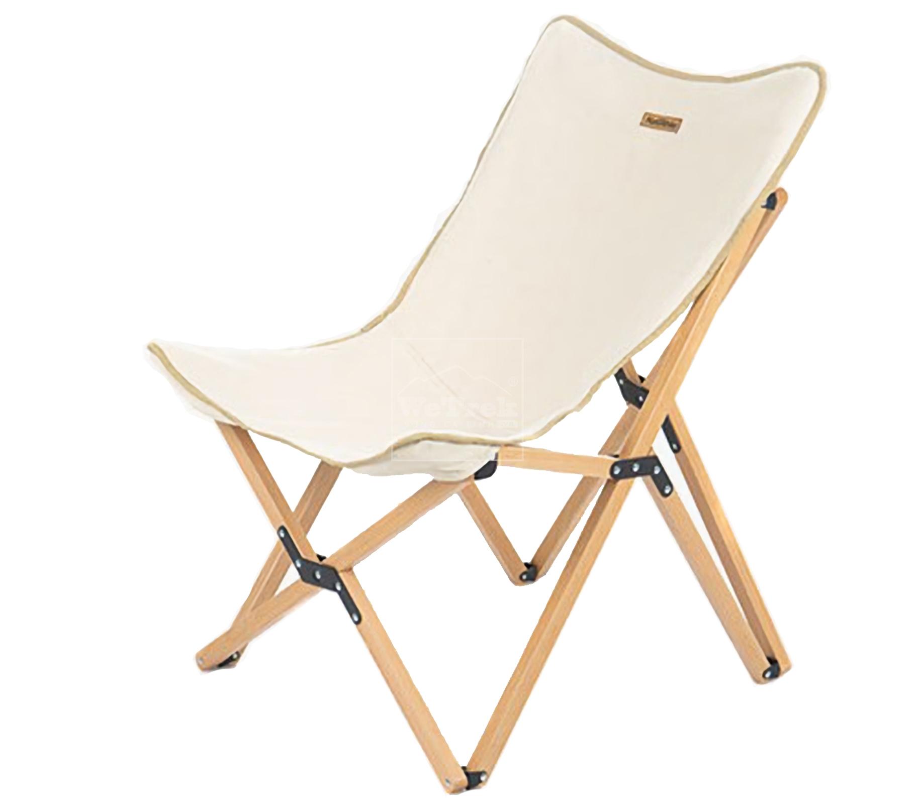 Ghế xếp có tựa lưng khung gỗ size L Naturehike Foldable Ultralight Camping Chair NH19JJ008 - 9531