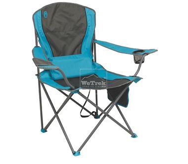 Ghế xếp tay tựa có đệm lưng Coleman Lumbar Quad Chair Blue 2000019207 - 7417