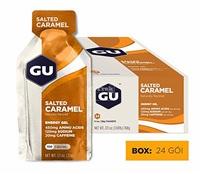 Hộp gel năng lượng vị mạch nha mặn GU Energy Salted Caramen Gel Box - 8081