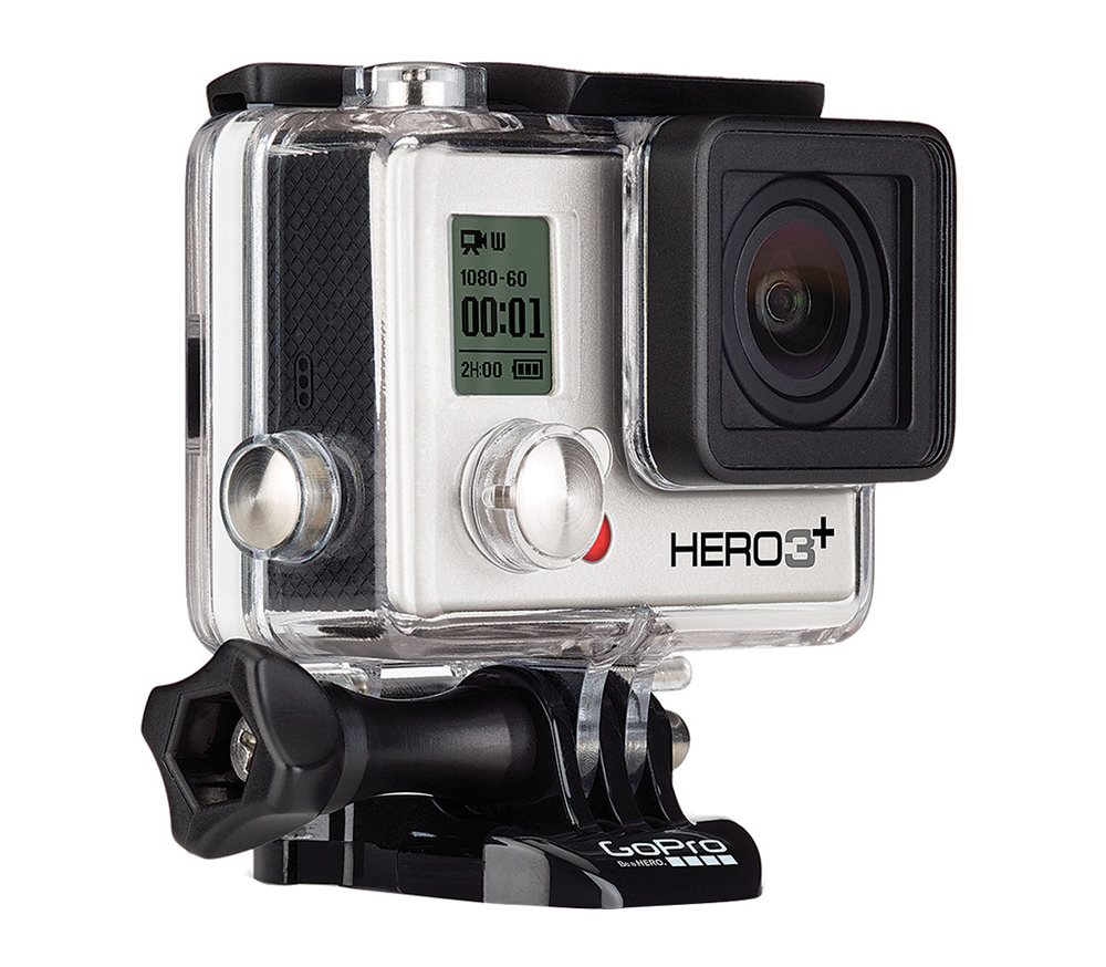 Máy quay GoPro HERO3+ Silver Edition - 1603