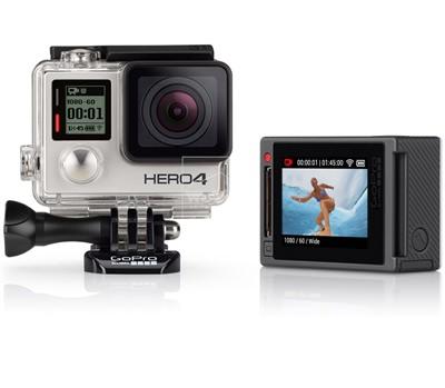 Máy quay GoPro HERO4 Silver - 3266