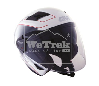 Mũ bảo hiểm xe máy GIVI M11.0 D-VISOR SOLID WHITE - H110MW900