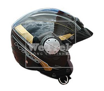 Mũ bảo hiểm xe máy GIVI TECNO Metal Gun - H104VG801NL