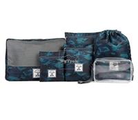Set 6 túi đựng đồ du lịch Msquare 0641 Xanh camo - 9445