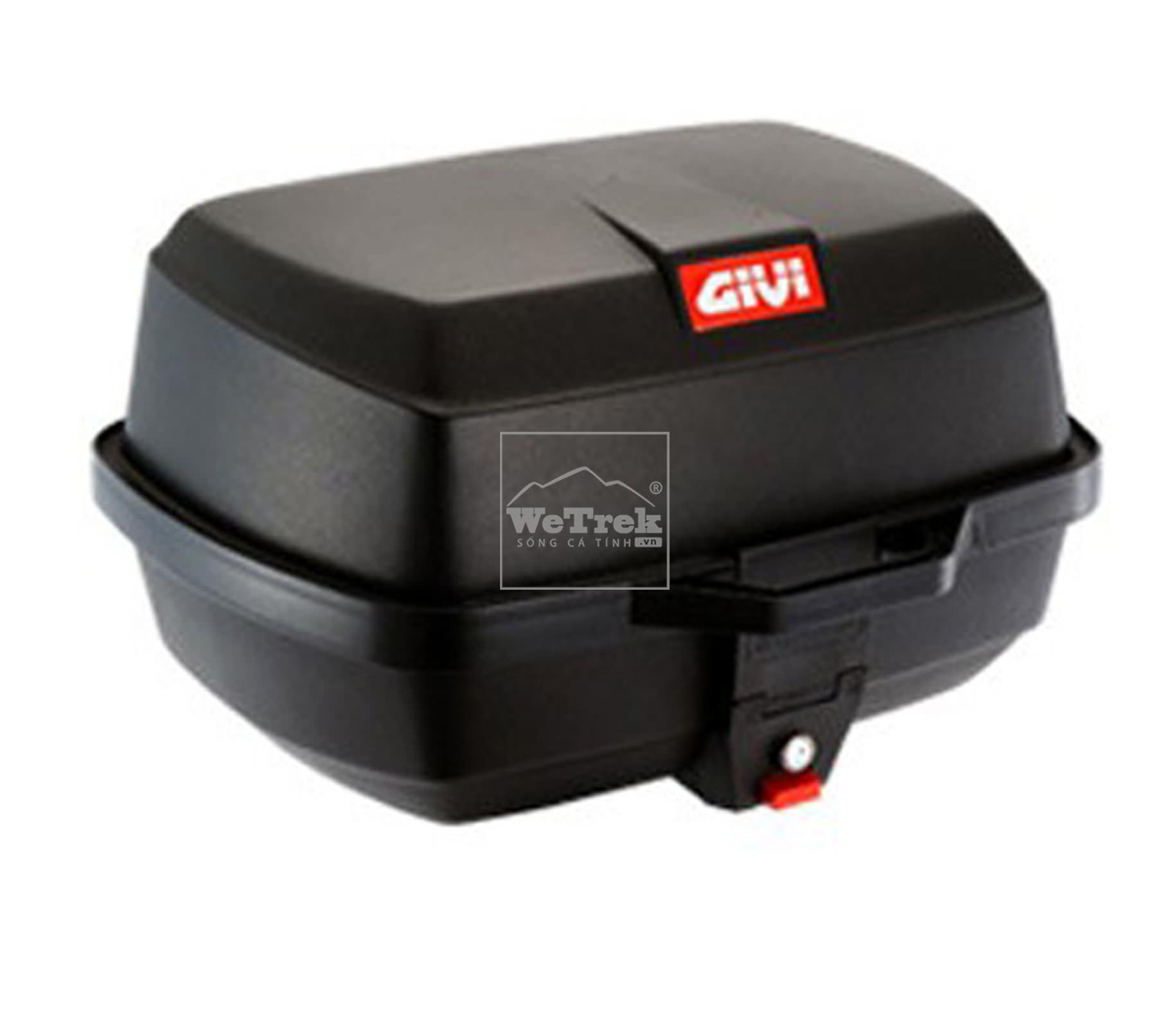 Thùng sau xe máy GIVI E20N Easy - Đen - 5361