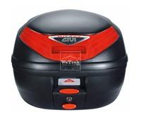 Thùng sau xe máy GIVI E260N Micro 2 - Đen