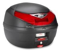 Thùng sau xe máy GIVI E260N-S Micro II có đèn - Đen