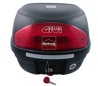 Thùng sau xe máy GIVI E26NC Micro Reflector - Đen