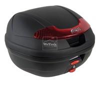 Thùng sau xe máy GIVI E340N Vision - Đen