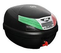 Thùng sau xe máy GIVI E260N-99C Micro II Italian Style - Đen