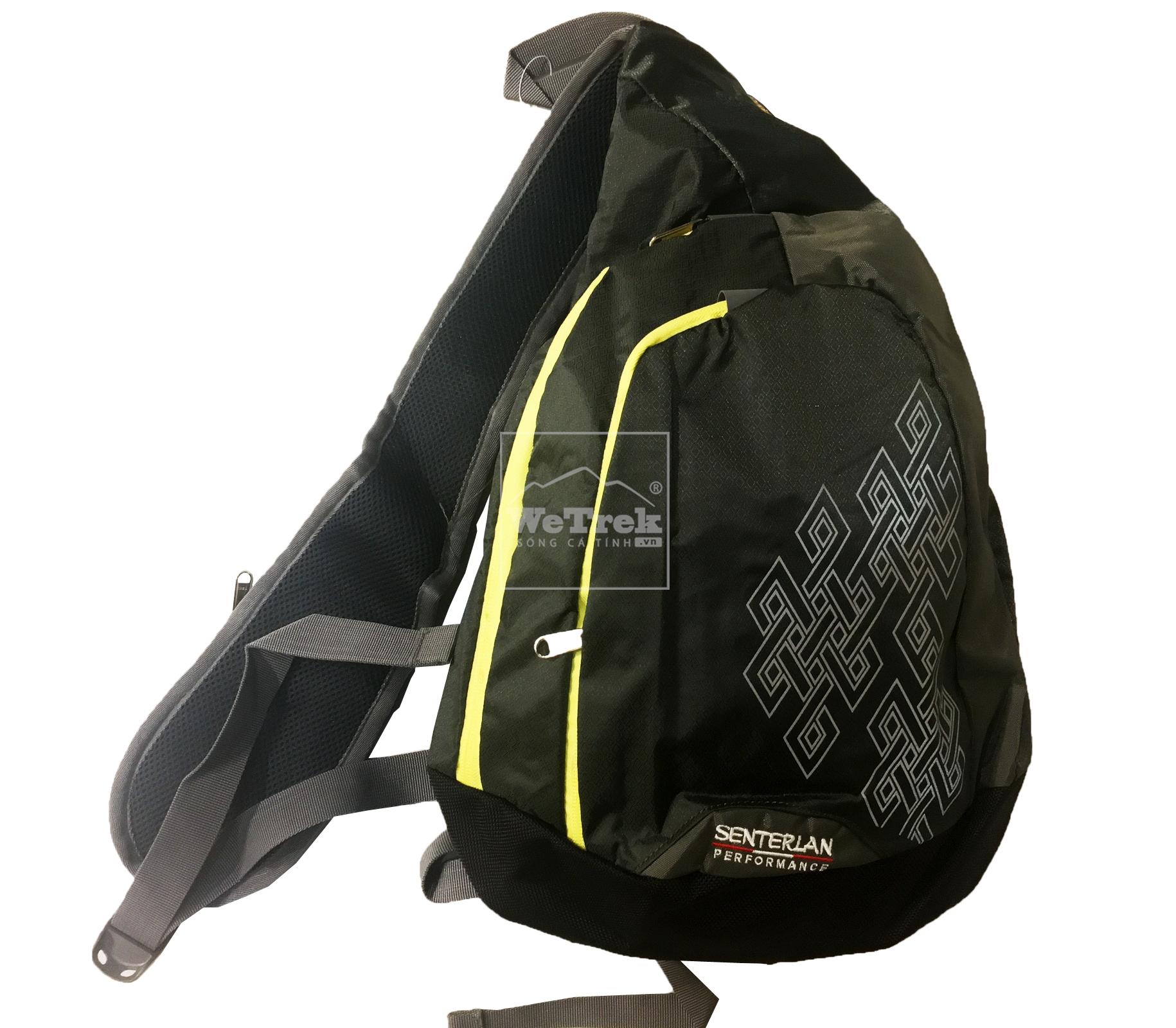 Túi đeo chéo Senterlan Performance S2370 Đen - 9169