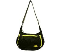 Túi đeo chéo Senterlan S2280 - 8433 - Đen pha vàng chanh