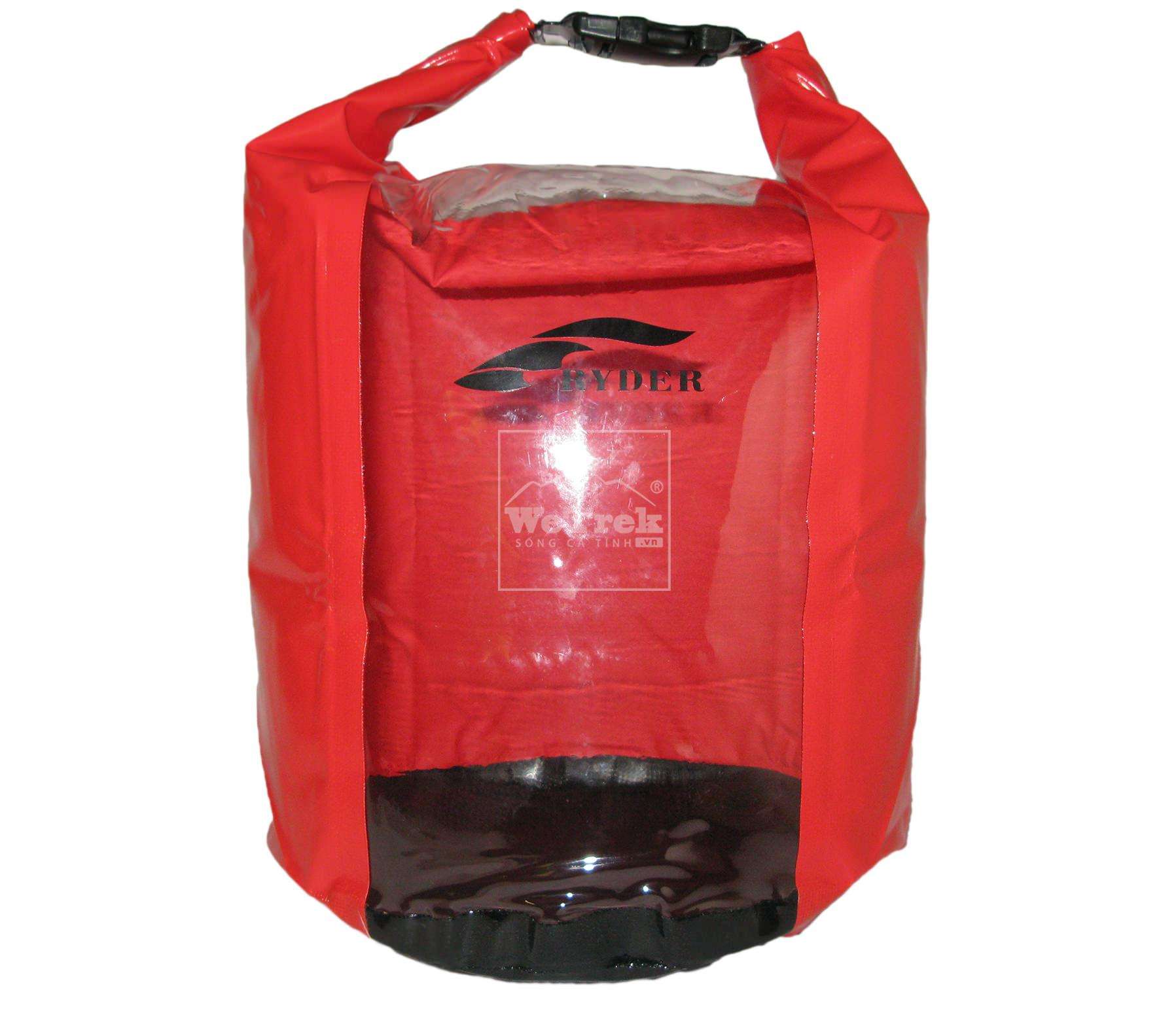 Túi khô chống nước 10L Ryder Clear PVC Panel C1012 - 1224