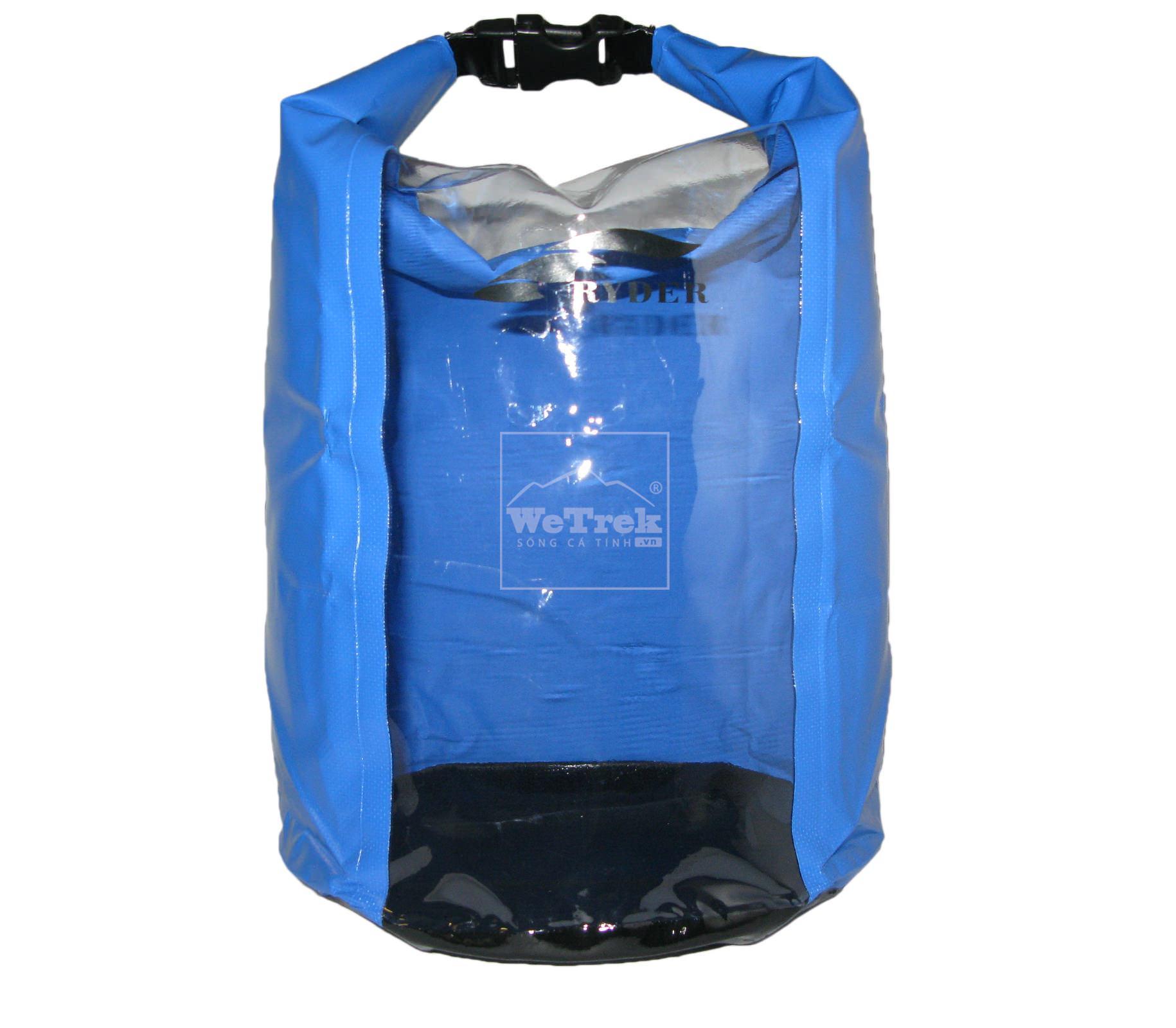 Túi khô chống nước 20L Ryder Clear PVC Panel C1013 - 1222
