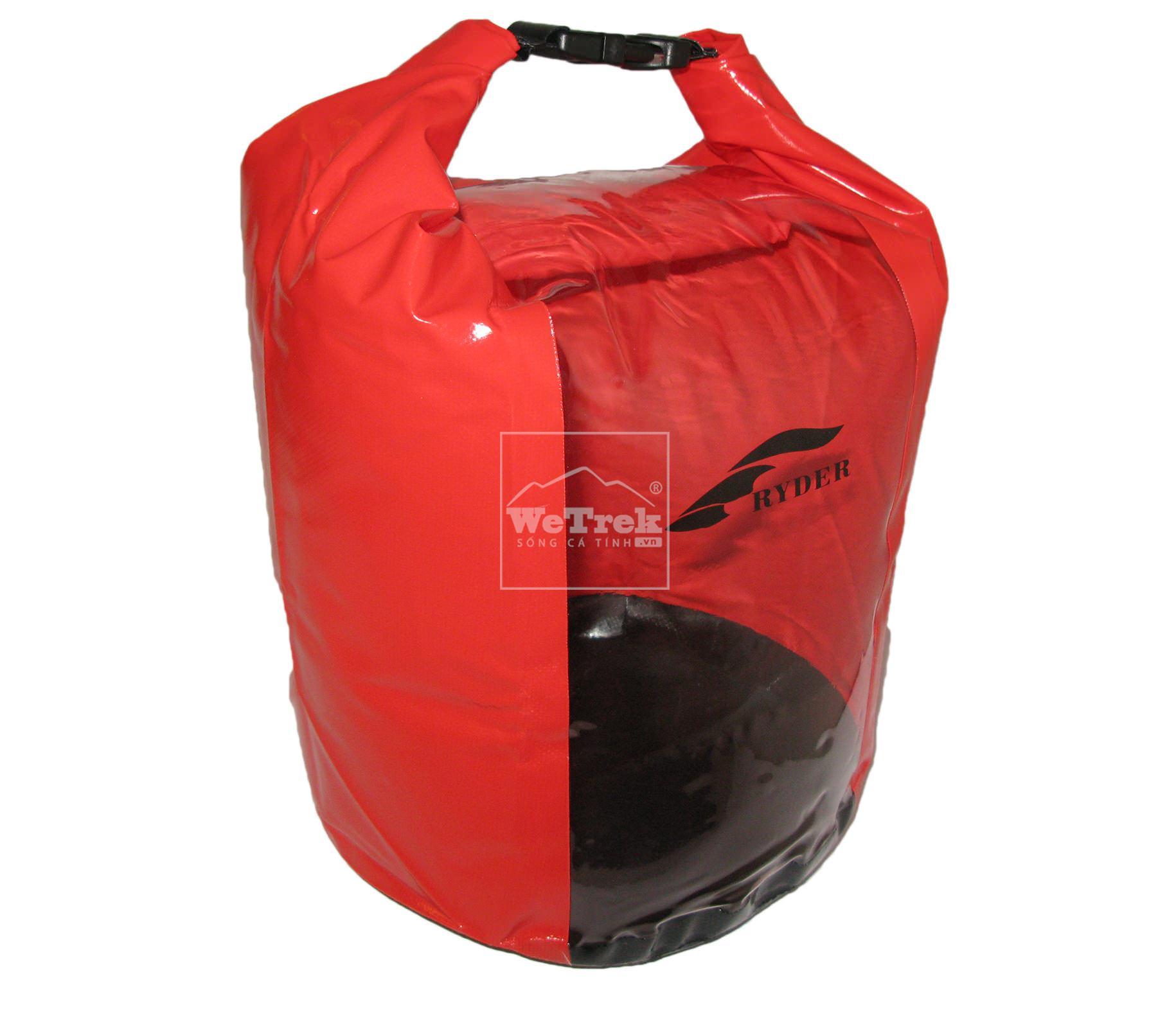 Túi khô chống nước 30L Ryder Clear PVC Panel C1014 - 6671