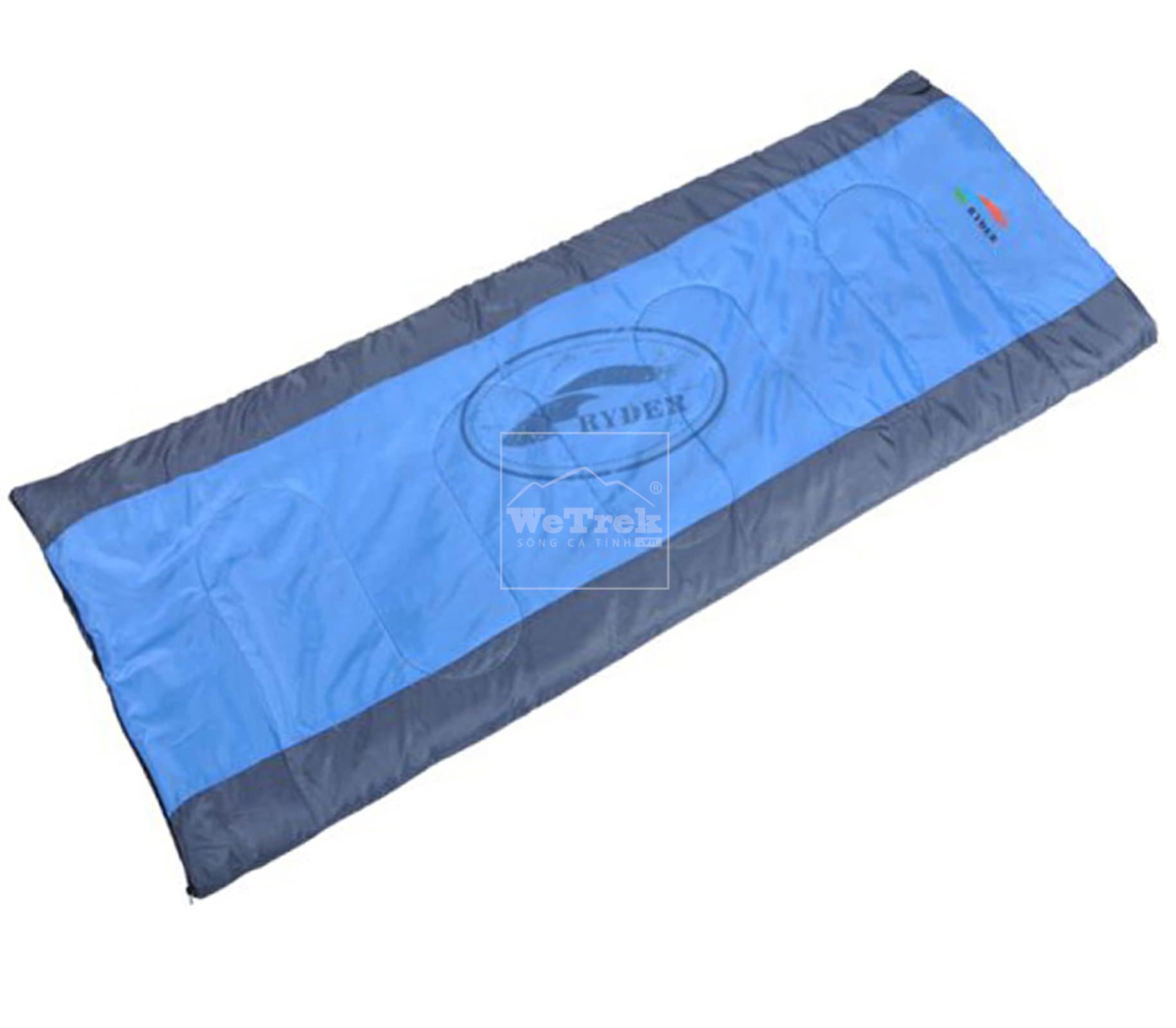 Túi ngủ Ryder Envelope Sleeping Bag D1001 Blue - 1211