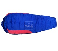 Túi ngủ du lịch mùa đông Comfort WT - Xanh đỏ 5779
