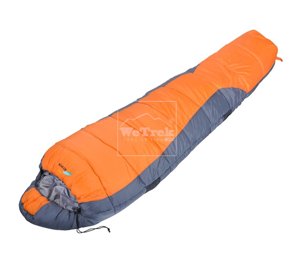 Túi ngủ mùa đông 2 lớp Ryder 2 Layers Mummy Sleeping Bag D1005 Orange - 3286