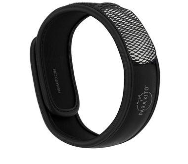 Vòng tay chống muỗi loại 1 viên PARAKITO Black Band - 7508