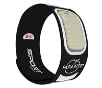 Vòng đeo tay chống muỗi thể thao PARAKITO Black Sport Band - 8027 Đen