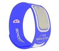 Vòng đeo tay chống muỗi thể thao PARAKITO Blue Sport Band - 8025 Xanh dương