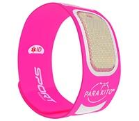 Vòng đeo tay chống muỗi thể thao PARAKITO Fuchsia Sport Band - 8024 Hồng
