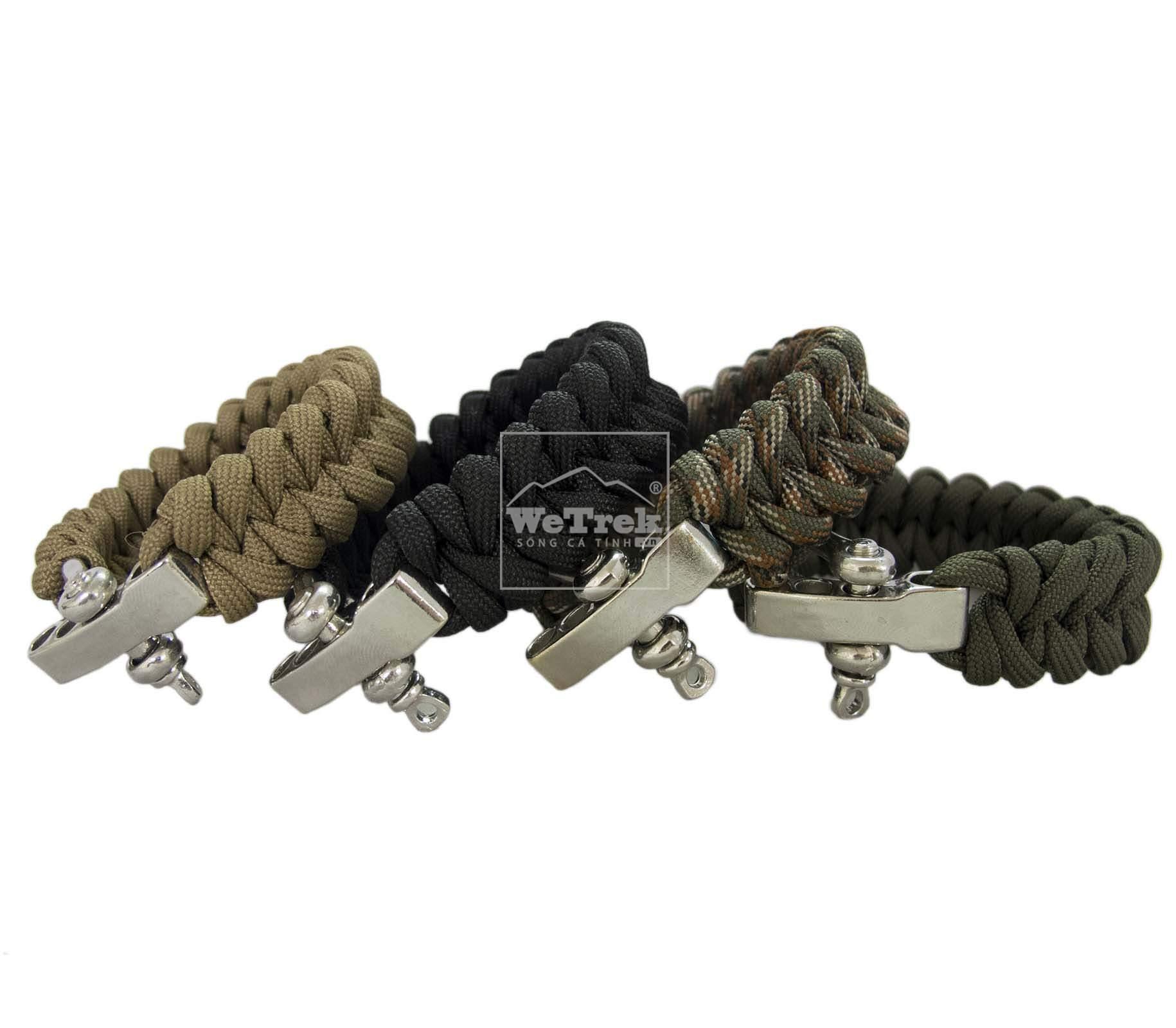 Vòng tay sinh tồn đầu thép Strong Survival Bracelet Steel - 1064