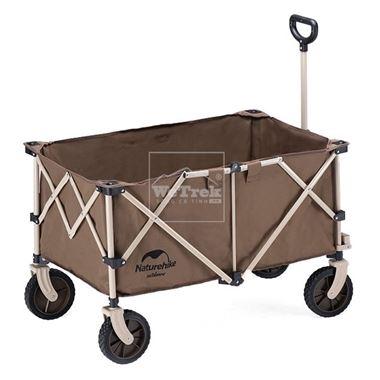 Xe kéo dã ngoại gấp gọn Natuturehike Folding Cart NH20PJ005 - 9770
