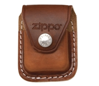 Bao da Zippo Leather Lighter Pouch with Belt Loop