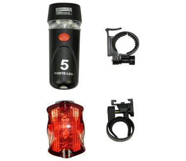 Bộ đèn pin xe đạp 9 LED
