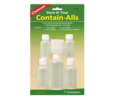 Bộ lọ đựng mini Coghlans Store N Pour Contain-Alls