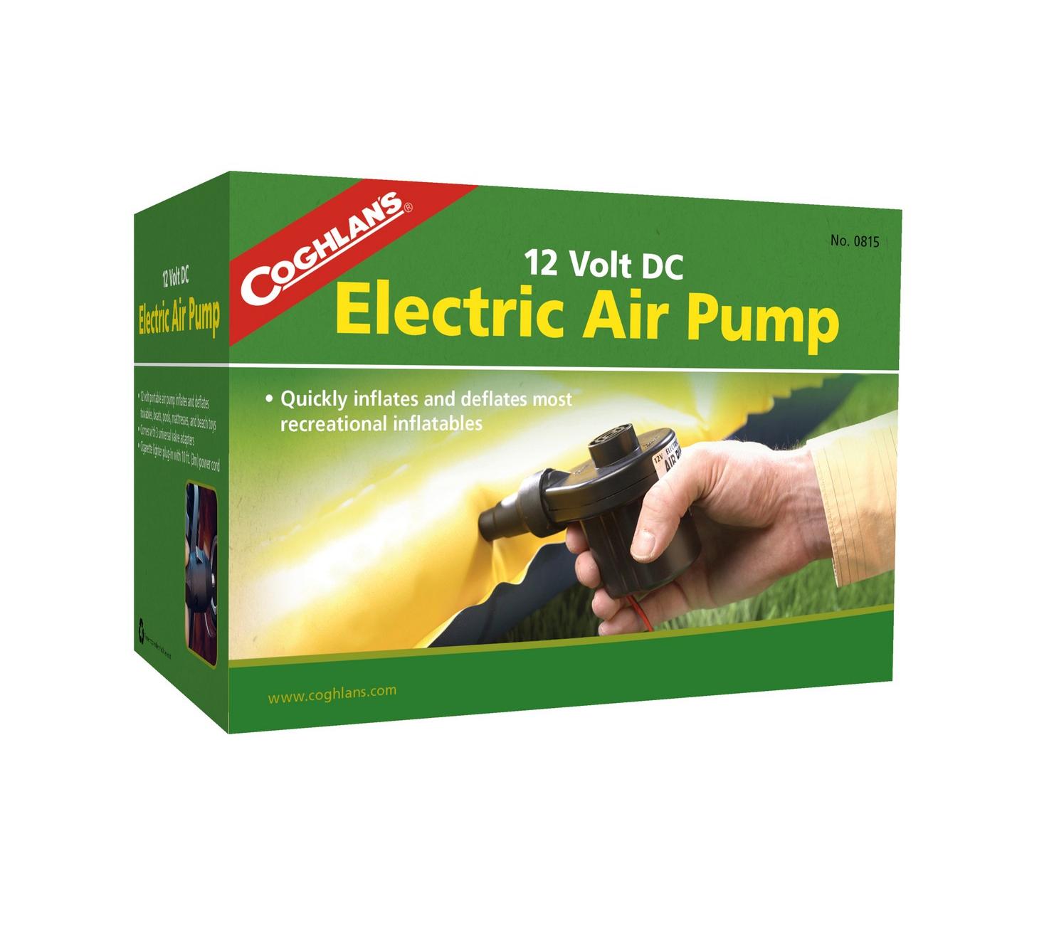 Bơm hơi điện Coghlans 12V DC Electric Air Pump